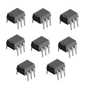 Lot of 4 NPN Optocoupler CNY17-4 DIP-6 Transistor Output