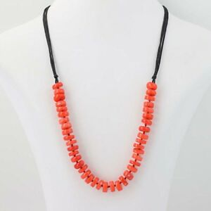 Quartz Necklace Coral and Red Quartz Necklace Quartz Gemstone Coral  necklace SALE 30/% Coral Gemstone Necklace Birthstone