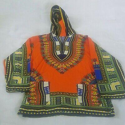 Summer Unisex African Dashiki Ethnic Dress Boho T-shirt Casual Hippie Tops