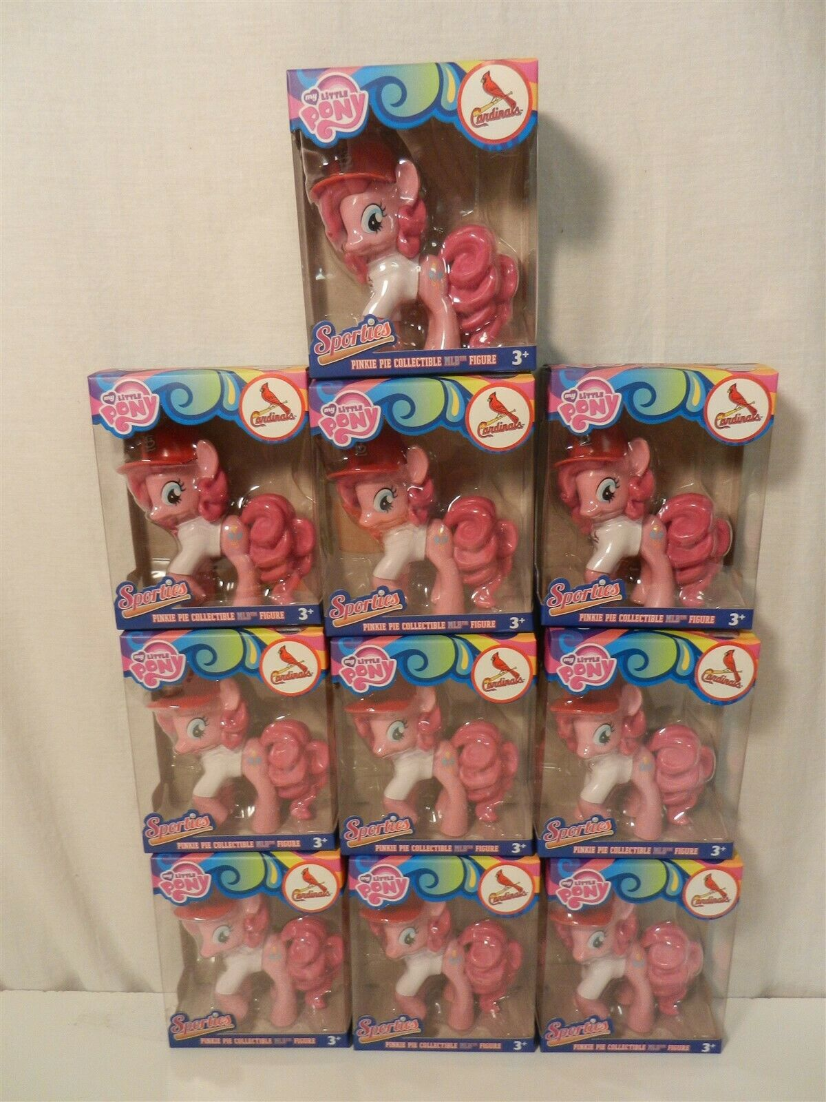 Lot Lot Lot of 10 My Little Pony Pinkie Pie Sporties MLB ST Louis Cardinals 2015 SDCC 6e67df