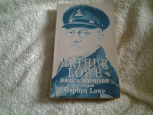 1 of 1 - 1997 P/B Arthur Lowe (Dad's memory) by his Son Stephen Lowe