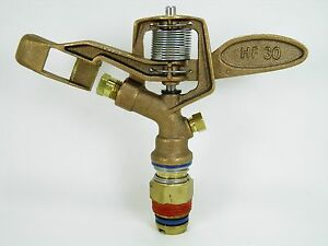"""1 Aqua Burst Hd-30 3/4"""" Heavy Duty Double Buse Brass Impact Arroseur Qualité!-afficher Le Titre D'origine"""