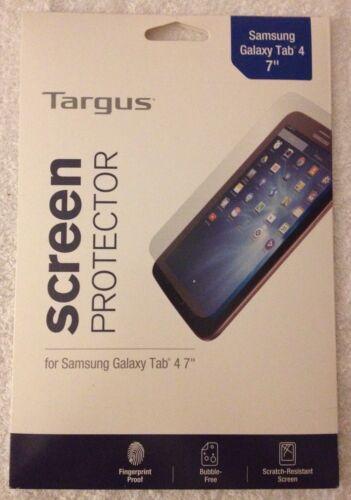 "~ Screen Protector NEW Targus ~ Samsung Galaxy Tab 4 7/"""