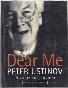 Peter-Ustinov-Dear-Me-2-Cassette-Audio-Book-Autobiography-Actor-FASTPOST