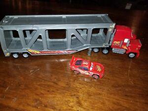 Mattel Disney Pixar Mack The Hauler Car Carrier Transporter W