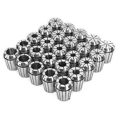 """High Precision ER32 COLLET 25PC SET 1//16/""""-3//4/"""" by 16th /& 32nd INDUSTRIAL GRADE"""