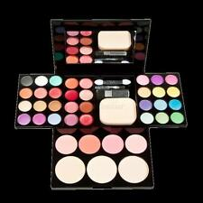 Makeup Kit Lip Gloss Eyeshadow Palette Brush Mirror Cosmetic Set
