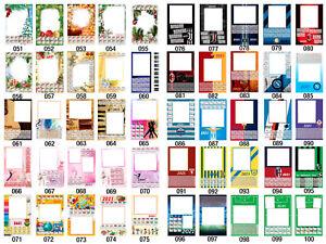 Calendario 2021 personalizzato con foto | eBay