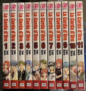 La-Corda-d-oro-Manga-1-11-1-2-3-4-5-6-7-8-9-10-11-Viz-Shojo-Music