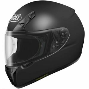 Shoei-Matte-Black-RF-SR-Full-Face-Snell-DOT-Motorcycle-Street-Helmet-Size-LRG
