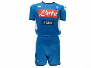 Completo-Napoli-Home-originale-SSC-Napoli-Robe-di-Kappa-2019-2020-azzurri