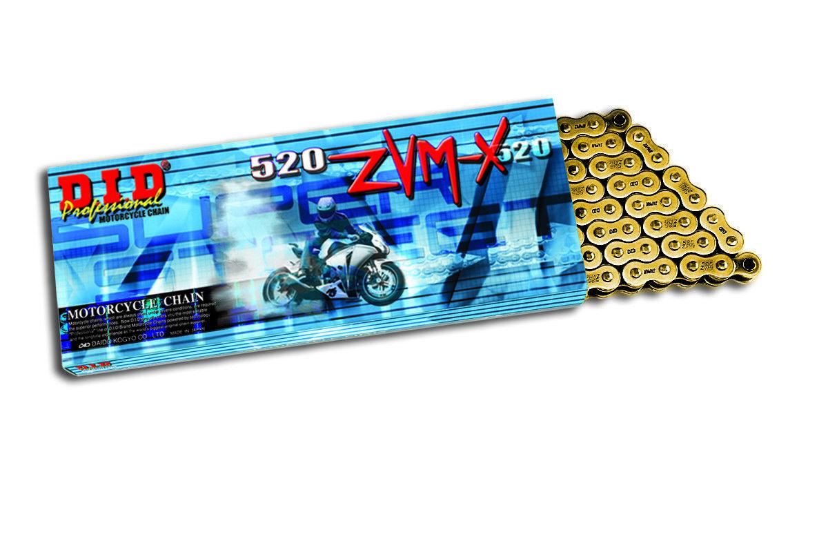 -kette Übertragung did 520ZVM-X Gold & Gold (mit (mit (mit Auswahl Anzahl der Glieder) 3dd4a3