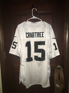Details about Mens Nike Sz 48 MICHAEL CRABTREE Raiders NFL Football Jersey ~ STITCHED