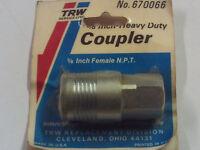 Trw Service Line 3/8'' Npt Female Heavy Duty Air Hose Quick Coupler - Made Usa