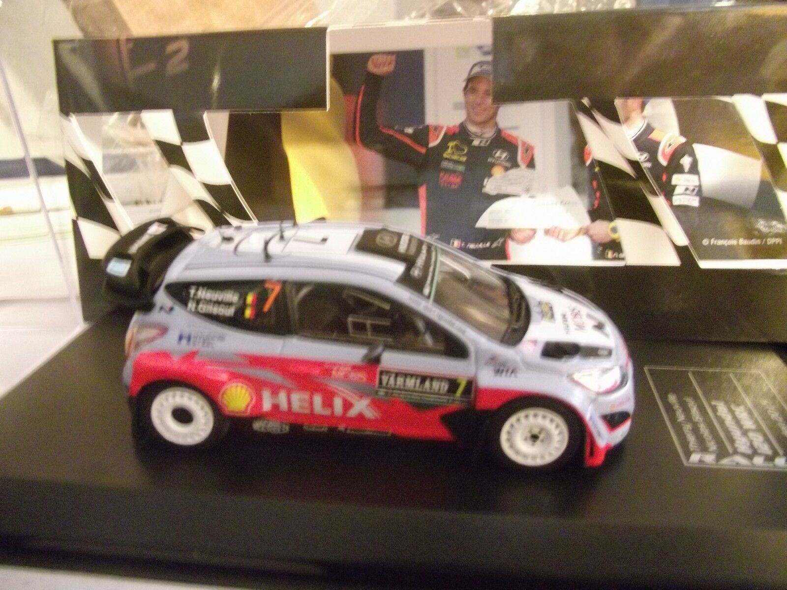HYUNDAI i20 wrc rally sweden 2015 Neuville 1 43 DCC DCC DCC IXO 15 2616af