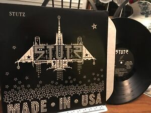 STUTZ-LP-MADE-IN-USA-1983-PRIVATE-PRESS-HARD-ROCK-HEAVY-METAL-NM-EX