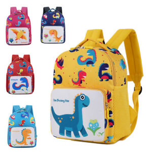 7d4db51fc9c7 Toddler Backpack Anti-lost Band Kids Children Bag Dinosaur Cartoon ...