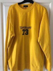 Timberland-Yellow-Sweatshirt-Jumper-Boys-XL-Mens-Excellent-og