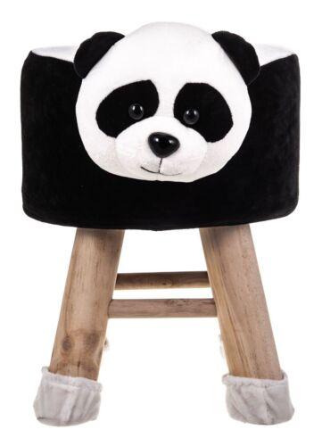 Luxe en bois repose-pieds Animal Design Enfant Chaise Siège Enfants Bébé Rond