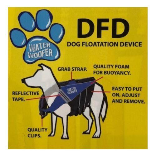 Quality Buoyancy Aid  Lilac Life Jacket Water Woofer DFD Dog Flotation Device
