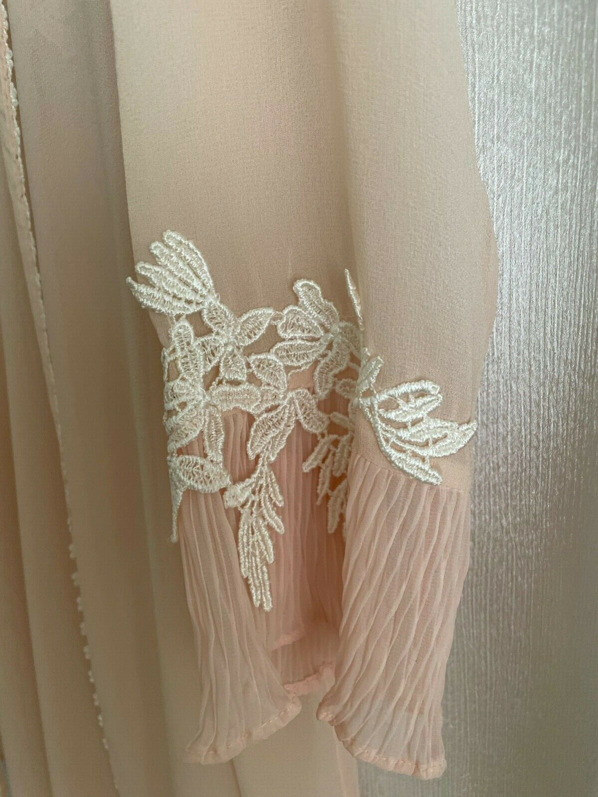 Willow Blossom, Women's Silk Robe & Gown - image 5