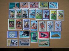 28 DIFFERENT SOLOMON ISLANDS,COMMEMORATIVES,U/MINT,EXCELLENT LOT.