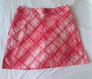 Ativa Golf Skirt Womens Size10 Skort Pink Coral Tennis
