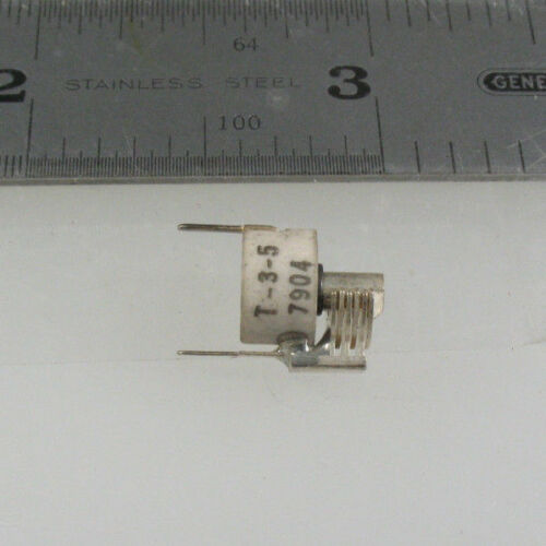 1pc Itsy Bitsy EFJ T-3-5 0.8-5pF Variable Air Trimmer Capacitor PC Mount
