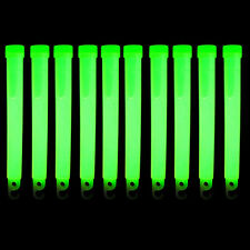 "Scuba Diving Safety 6"" Glow Sticks 10pc Pack (Green)"