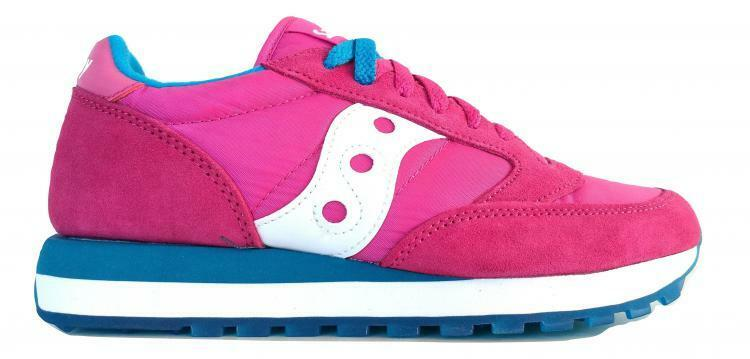 SAUCONY sneakers woman JAZZ ORIGINAL VINTAGE S1044-262 pink-white