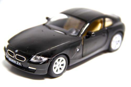 """5/"""" Kinsmart BMW Z4 Coupe Hardtop Diecast Model Toy Car 1:32 Black"""