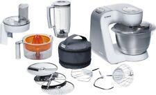 Artikelbild Bosch MUM54230 Weiss-Silber 900 Watt Küchenmaschine, 7 Funktionsstufen, 4091