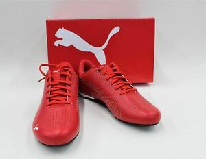 Puma-Homme-Ferrari-Rouge-drift-cat-5-Ultra-II-Lacets-Baskets-UK7-5-EU41-BNWT