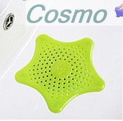 Sink Strainer Starfish Hair Catcher Rubber Bath Shower Drain Cover Trap Basin