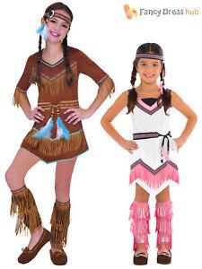 Nativo Indio Rojo Niño Y Niña fancy dress costumes