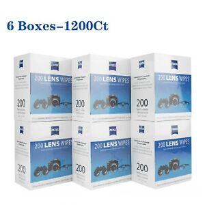 Limpieza 100Pcs Lente de cámara óptica Toallitas Gafas equipo Limpiador Toallitas