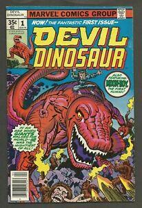 DEVIL DINOSAUR #1 (1978) 1st App of Devil Dinosaur & Moon-Boy Jack Kirby VG/VG+