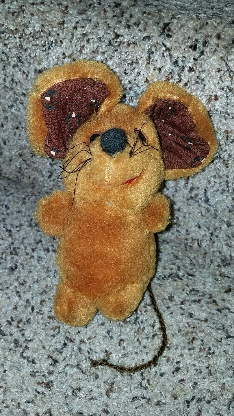 Vintage 1980 California Stuffed Toys MOUSE 6