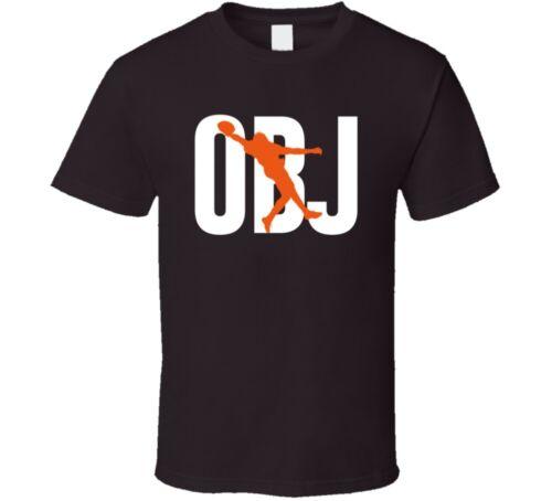 Obj Odell Beckham Jr The Catch Cleveland Football Fan T Shirt