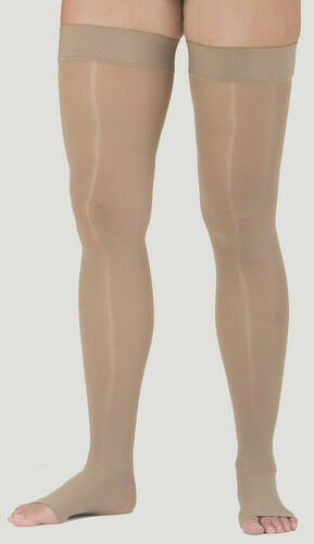 d9aa0a3c00a8c Medi Assure Thigh High With Silicone Band 30-40mmhg Open Toe Beige 22401  Small for sale online | eBay