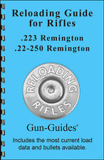 Reloading Manual Book Guide 223 22-350 Remington Rifles direct from Gun-Guides