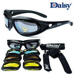HARLEY BOBBER CHOPPER SUN GLASSES DAISY PERFECT FOR NEOPRENE MASK! Cheap,