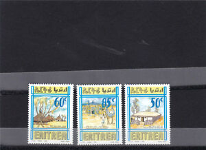 stamps-ERITREA-1998-SC-308-310-DWELLINGS-HOUSES-IPAZ-ITALY-MNH-SET-ER-12-LOOK