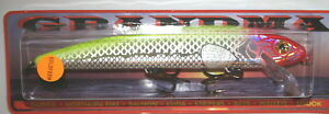 "7 1//2/"" Grandma Lure Classic Crankbait Musky Pike Holoform Rainbow Trout G7H-26"