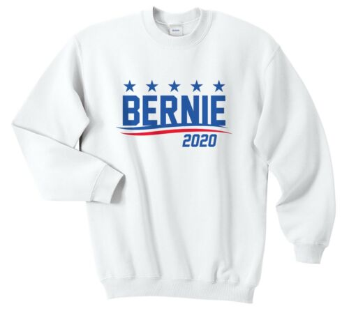 Bernie Sanders 2020 Jumper Sweatshirt Top USA President Election Vote Trump
