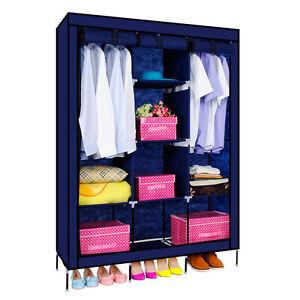 Folding Wardrobe Cupboard Almirah-Xi- Nb