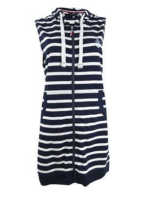 Tommy Hilfiger Women/'s Zip Hoodie Dress Swim Cover-Up