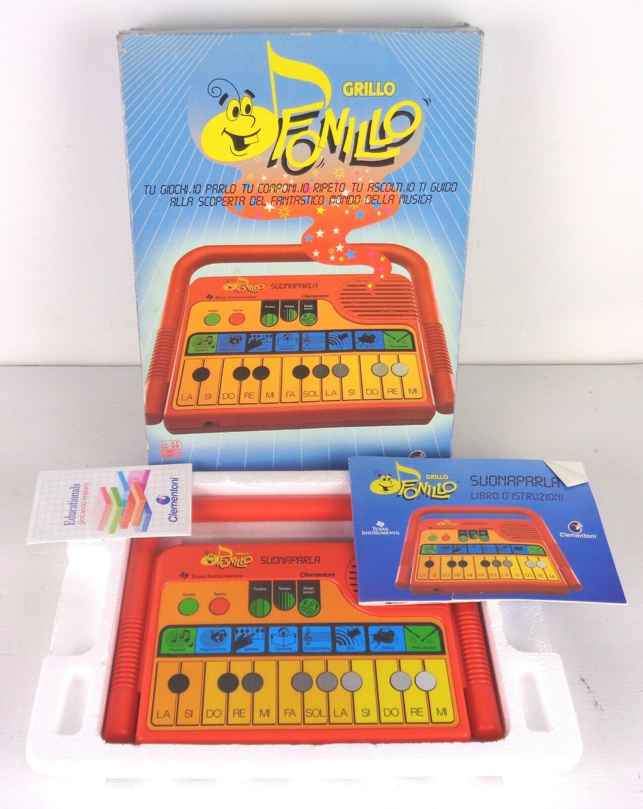 Fonillo grillo, texas instruments new with box