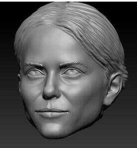 Star wars Barriss Offee custom head sculpt hasbro black series