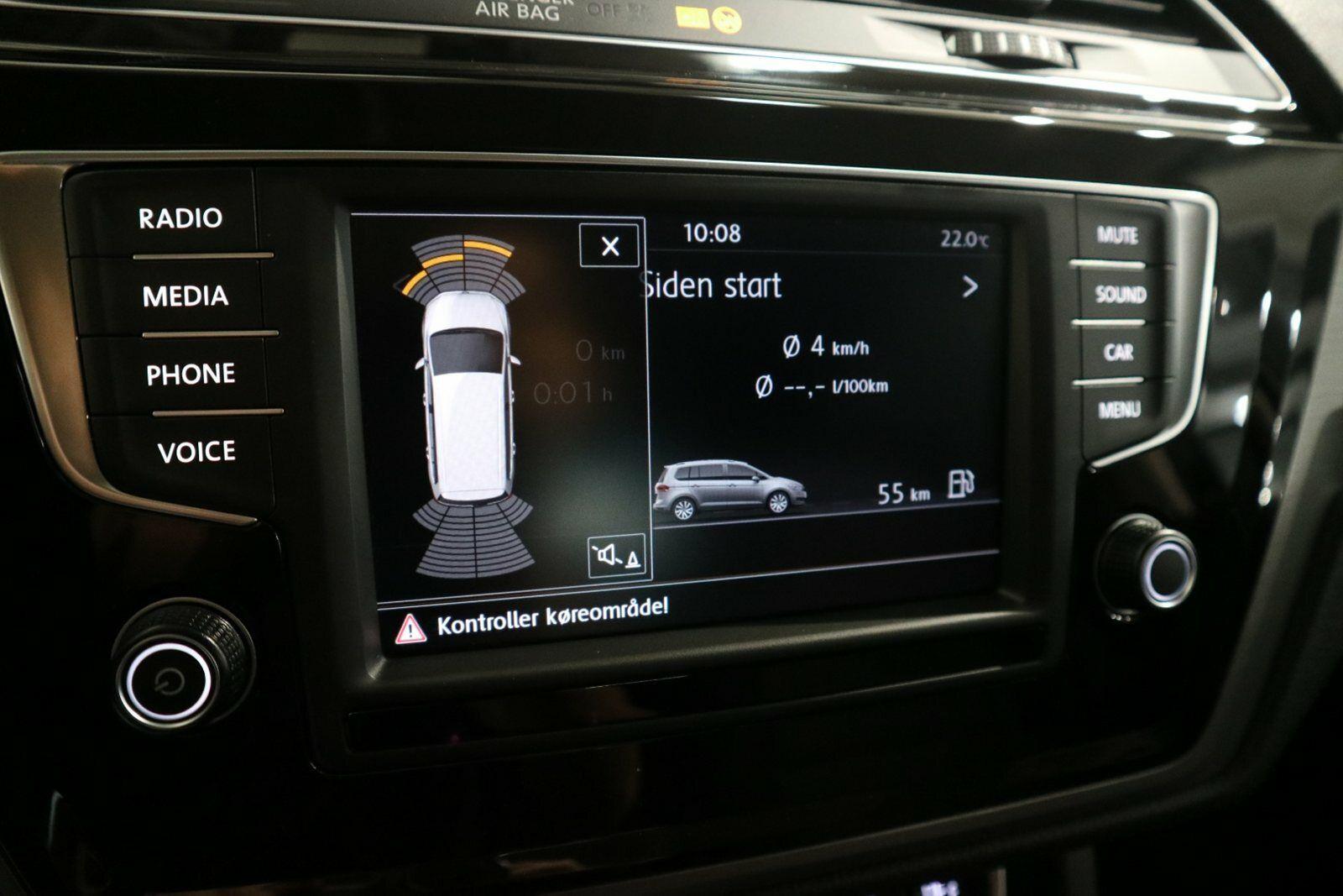 VW Touran 1,4 TSi 150 Comfortline DSG 7prs - billede 8